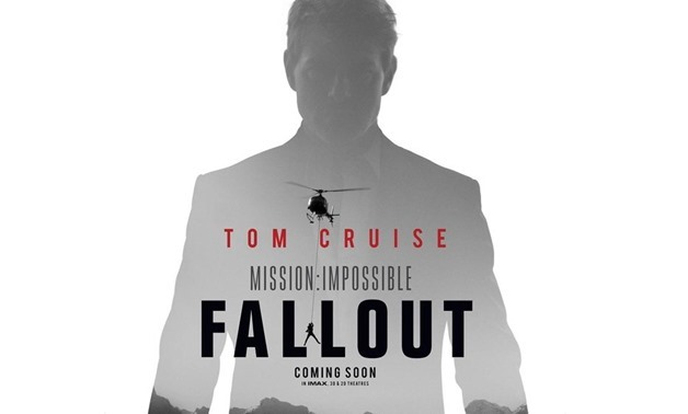 New poster for Mission Impossible Fallout - Tom Cruise Official Twitter page.
