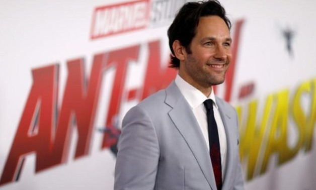 "FILE PHOTO: Cast member Paul Rudd attends the premiere of the movie ""Ant-Man and the Wasp"" in Los Angeles, California, U.S. June 25, 2018. REUTERS/Mario Anzuoni"