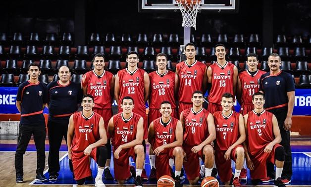 Egyptian U-17 national basketball team - Press image courtesy of FIBA's official website