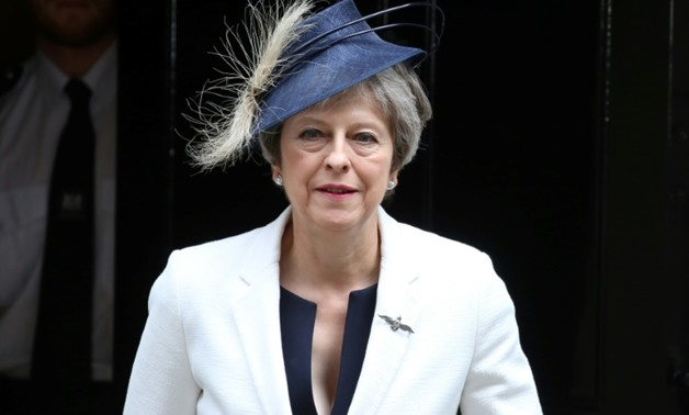 British Prime Minister Theresa May has faced a backlash over her Brexit plans - AFP