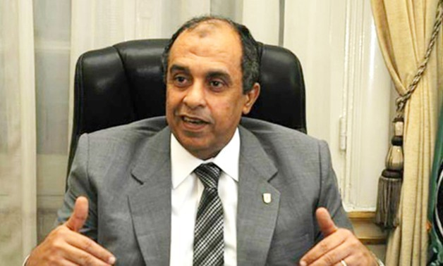 FILE - Egypt's Minister of Agriculture and Land Reclamation Ezzeddin Abu Steit