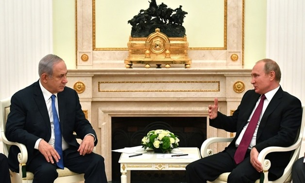 'I very much appreciate the direct, unmediated and excellent contact that I have with the Russian president,' Netanyahu says (AFP)