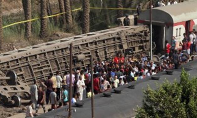PRESS: The driver of the train that derailed near Giza on Friday