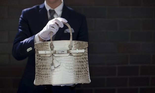 A Hermès Birkin handbag with diamonds and crocodile leather. Mario Anzuoni/Reuters