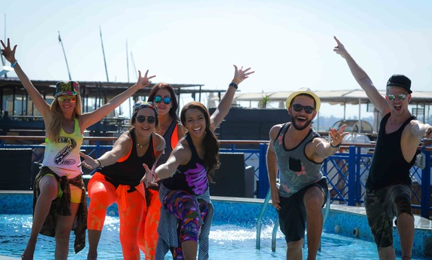 After 1st huge success, Zumba Glam Getaway hosted again in Gouna – Press Photo
