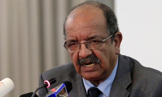 Algeria's Minister for Maghreb, Arab and African affairs Abdelkader Messahel - Press photo