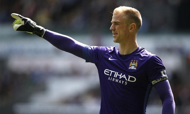 Manchester City goalkeeper Joe Hart - Reuters