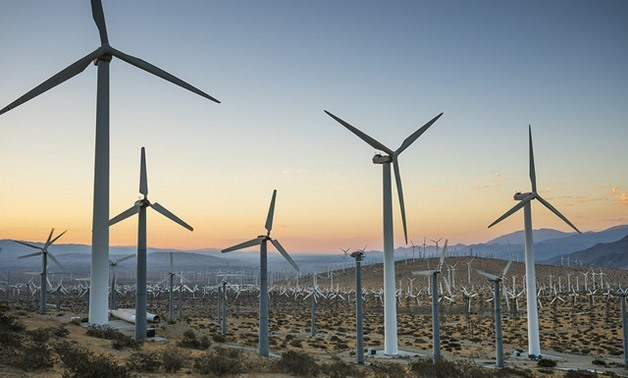 Wind farm- Bureau of Land Management via Flickr