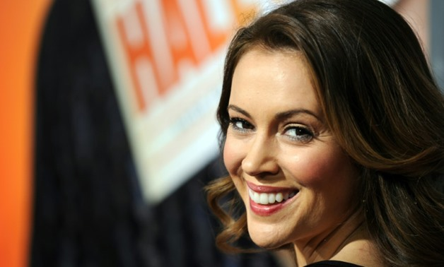 "Alyssa Milano stars in Netflix ""Insatiable,"" which critics accuse of body shaming overweight people-AFP/File / Gabriel BOUYS"