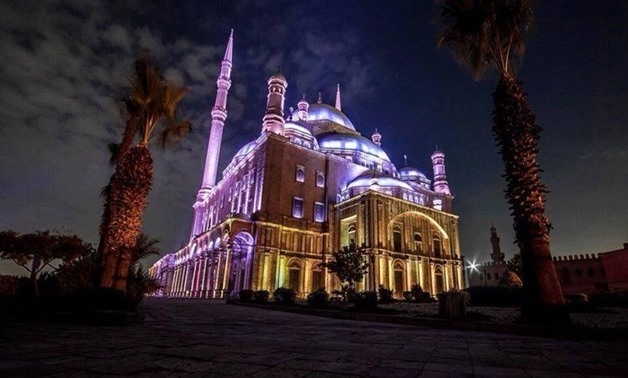 Cairo Citadel at night – Curtesy of Best Hang out Places in Egypt – Facebook