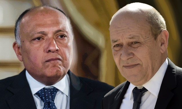 Shoukry hailed the deeply-rooted relations between Egypt and France – FILE