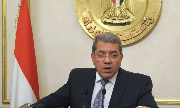 Minister of Finance Amr El-Garhy - Archive