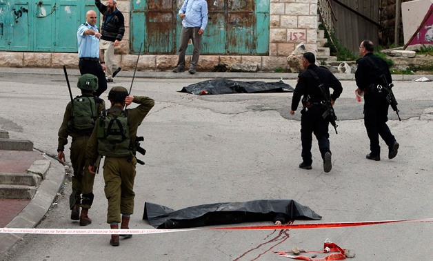 A Palestinian assailant entered an Israeli settlement in the occupied West Bank on Thursday - AFP