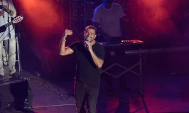 "Amr Diab performed a massive concert in Nammos restaurant in Mykonos Greece to promote to his new album ""Kol Hayati"" (All My Life) - Amr Diab Official Facebook Page."
