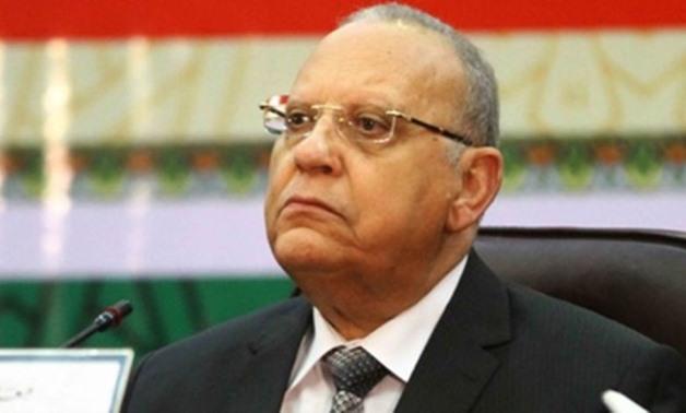 Minister of Justice Hossam Abdel Rahim - Press photo