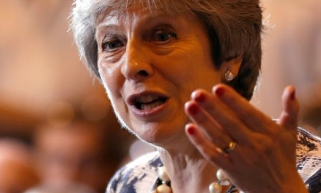 © POOL/AFP | British Prime Minister Theresa May has launched a charm offensive to win over individual EU member states to support her Brexit