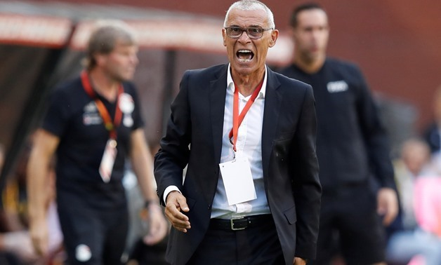 Soccer Football - International Friendly - Belgium vs Egypt - King Baudouin Stadium, Brussels, Belgium - June 6, 2018 Egypt coach Hector Cuper REUTERS/Francois Lenoir