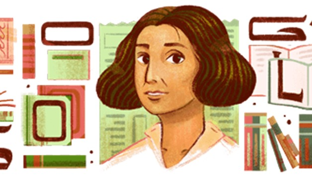 Google is honoring the prominent Lebanese late writer Anbara Salam Khalidi with a Google Doodle to celebrate the influential author's birthday on Aug. 4 - Google