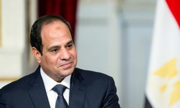 Egypt's President Abdel Fatah al-Sisi - press photo