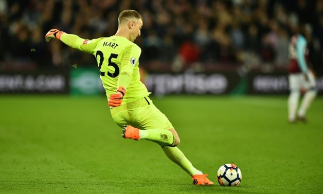 Joe Hart was at Manchester City for 12 years - AFP/File/Glyn KIRK