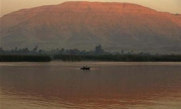 A boat is pictured on the Nile River in the southern Egyptian town of Nagaa Hamady in Qena, some 700 km (435 miles) south of Cairo, January 10, 2010. REUTERS/Asmaa Waguih