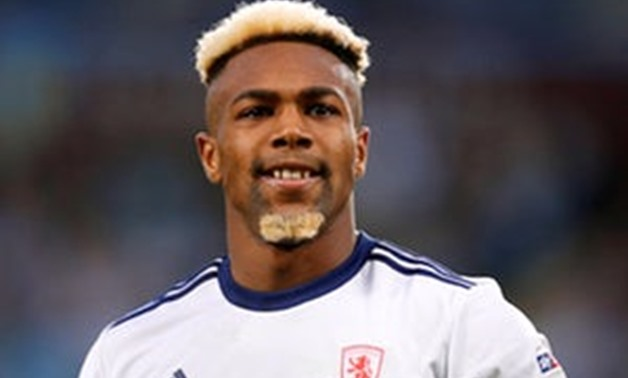 FILE PHOTO: Adama Traore playing for Middlesbrough against Aston Villa at Villa Park, Birmingham, Britain - May 15, 2018. Action Images via Reuters/Ed Sykes/File Photo