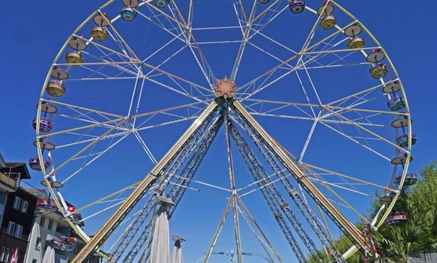 wheel at the amusement park - Courtesy by PIXNIO