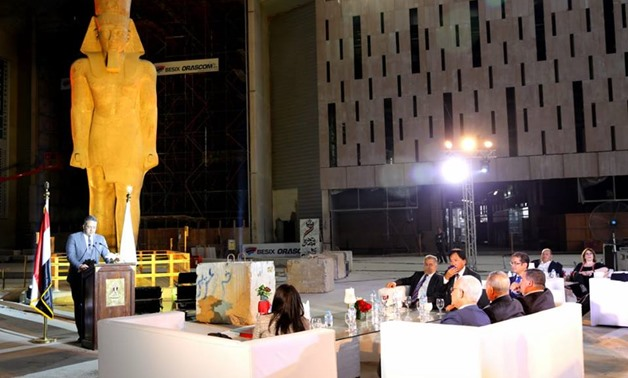 The Grand Egypt Museum (GEM) held on Tuesday an honoring ceremony for Japanese Ambassador in Egypt, Takehiro Kagawa, on the occasion of ending his term in Egypt-Ministry of Antiquities' official Facebook
