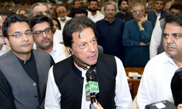 Khan's ascent to power marks the end of decades of rotating leadership by two establishment parties, punctuated by periods of army rule