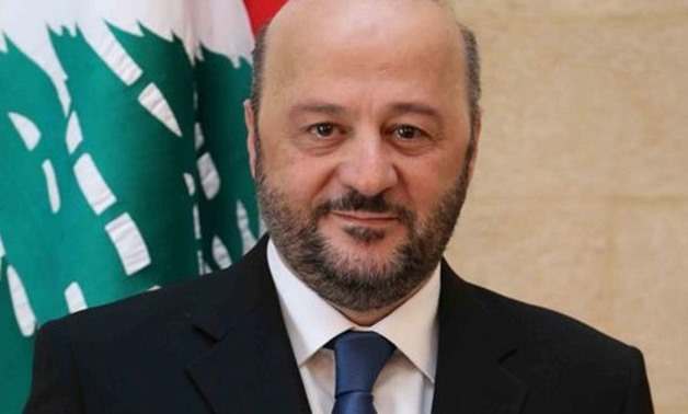 Lebanese Minister of Information Melhem al Rayashi - Photo via Lebanese Ministry of Information website