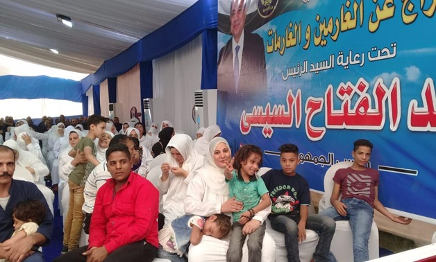 Egypt's Interior Ministry-run prison authority held a celebration on Tuesday, first day of Eid El-Adha, to announce the names of released debtors – Ahmed Elghaafry/Egypt Today