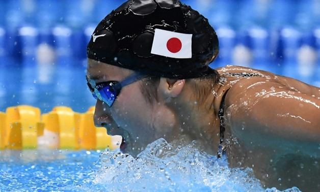 Japan's Rikako Ikee won her fifth gold medal of the Asian Games.