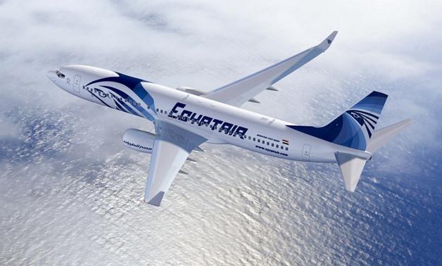 File - EgyptAir jet
