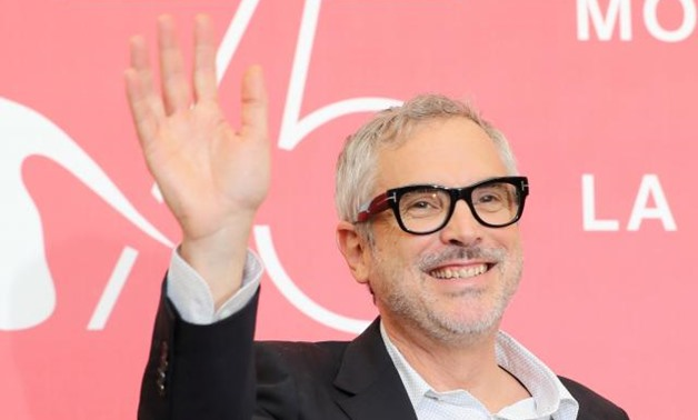"The 75th Venice International Film Festival - photocall for the movie ""Roma"" competing in the Venezia 75 section - Venice, Italy, August 30, 2018 - Director Alfonso Cuaron. REUTERS/Ton."