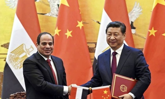 President Abdel Fatah al-Sisi signs Strategic partnership agreement with Chinese president - YouTube