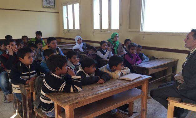 FILE: Students of a primary school in North Sinai - Egypt Today / Mohamed Hussein