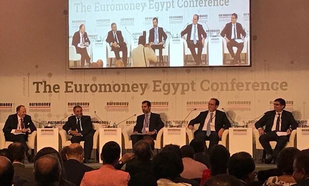 "Panelists of the ""Egypt's Investment Strategy: The Way Forward"" session at 28th Euromoney Conference, September 4, 2018 - Noha el-Tawil/Egypt Today"