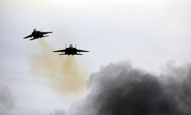 Damascus says Israeli planes target military positions in Syria