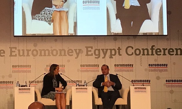Caption: Chairman of Egyptian Stocks Exchange (EGX) Mohamed Farid Saleh in 28th Euromoney Egypt Conference. September 5, 2018. Noha El Tawil/ Egypt Today