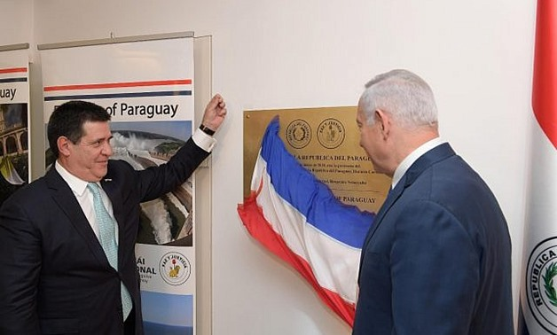 Israel closing embassy in Paraguay after it ordered return of mission to Tel Aviv