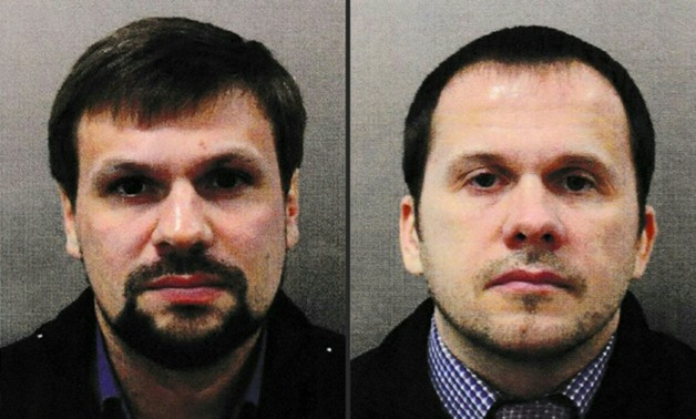 Police identified Boshirov (L) and Petrov as the men who allegedly tried to kill Russian former double agent Sergei Skripal and his daughter Yulia with Novichok in March