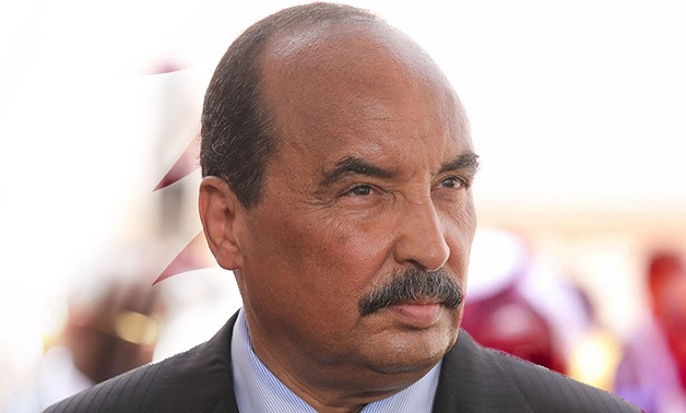 "FILE: Mauritanian President Mohamed Ould Abdel Aziz warned of the dangers of Islamism which, he said, has caused ""the ruin and destruction of nations wealthier and stronger than Mauritania."""