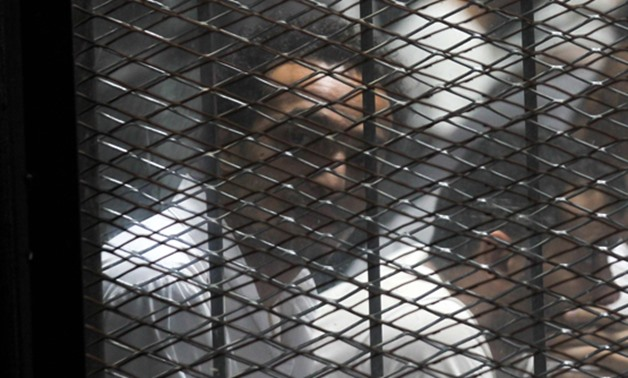 Photojournalist Mahmoud Abu Zeid (Shawkan) during Rabaa sit-in dispersal trial on September 8, 2018 - Egypt Today/By Khaled Kamel