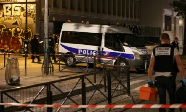 The attack took place in the 19th arrondissement of Paris- AFP