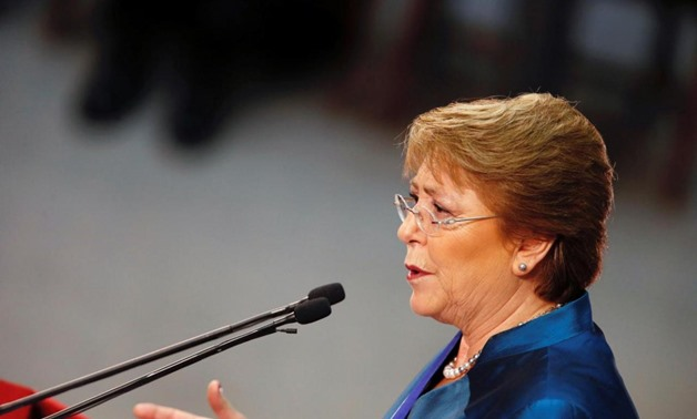 Chile's President Michelle Bachelet delivers the annual State of the Nation address at the national congress building in Valparaiso city, Chile, May 21, 2016. REUTERS/Rodrigo Garrido