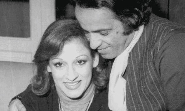 FILE: (L) Algerian singer Warda, (R) Noted composer Baligh Hamdi