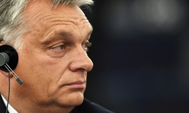 Hungarian Prime Minister Viktor Orban confronts his critics in the European Parliament on the eve of a vote to censure his right-wing populist government