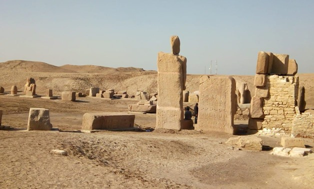 San al-Hagar archaeological site, Sharqiya governorate,to be        inaugurated on Saturday - Ministry of Antiquities' official        Facebook page