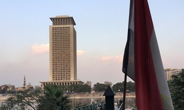 FILE- Egypt's ministry of foreign affairs