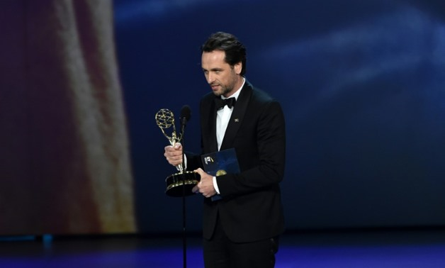 "Matthew Rhys won the best drama actor Emmy in his final chance for ""The Americans""."